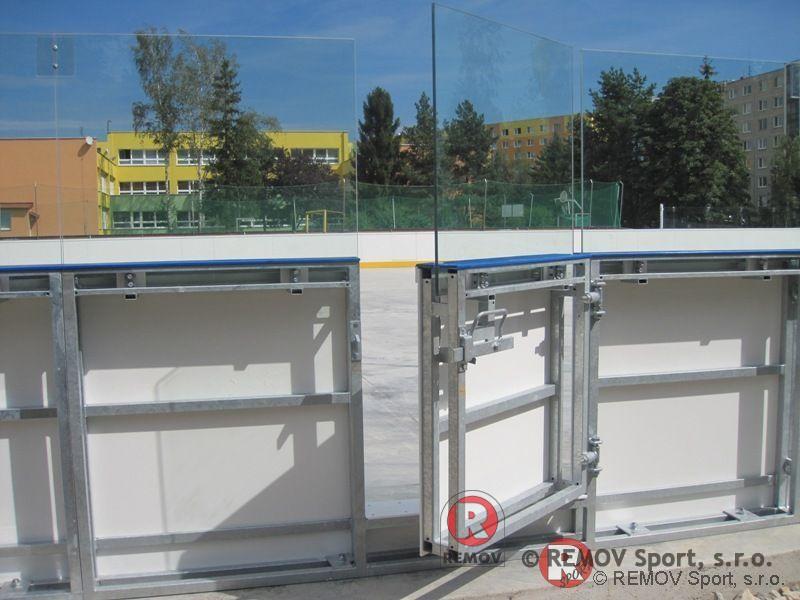 Hokejbalové mantinely EURO HOKEJBAL - systém otevírání